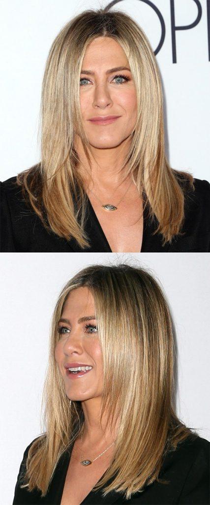 Ash Blonde Long Straight Hair