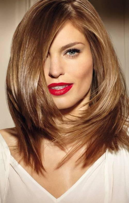 Blonde Layered Haircut