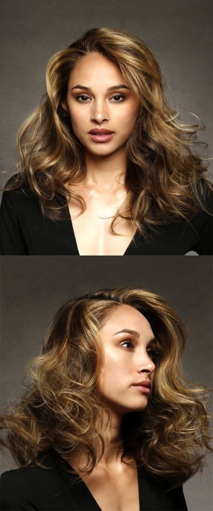 Long Wavy Blonde Haircut