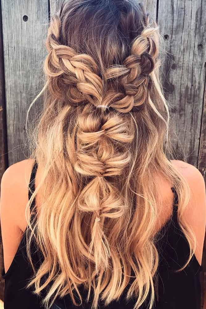 Fishtail Braids for Long Hair