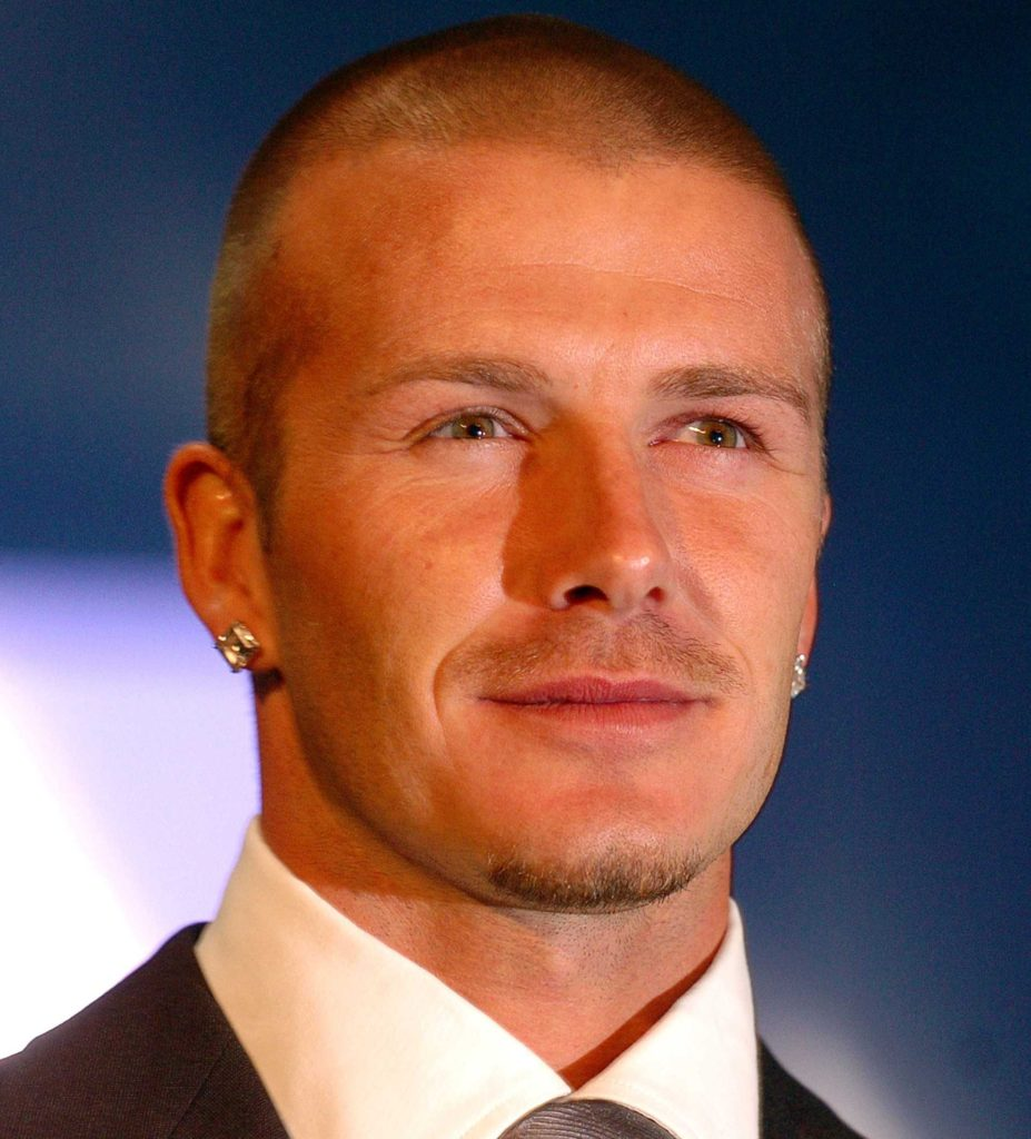David Beckham Burr Cut