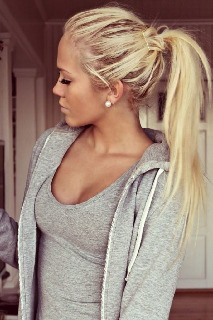 Ponytail Hairstyle for Long Hair