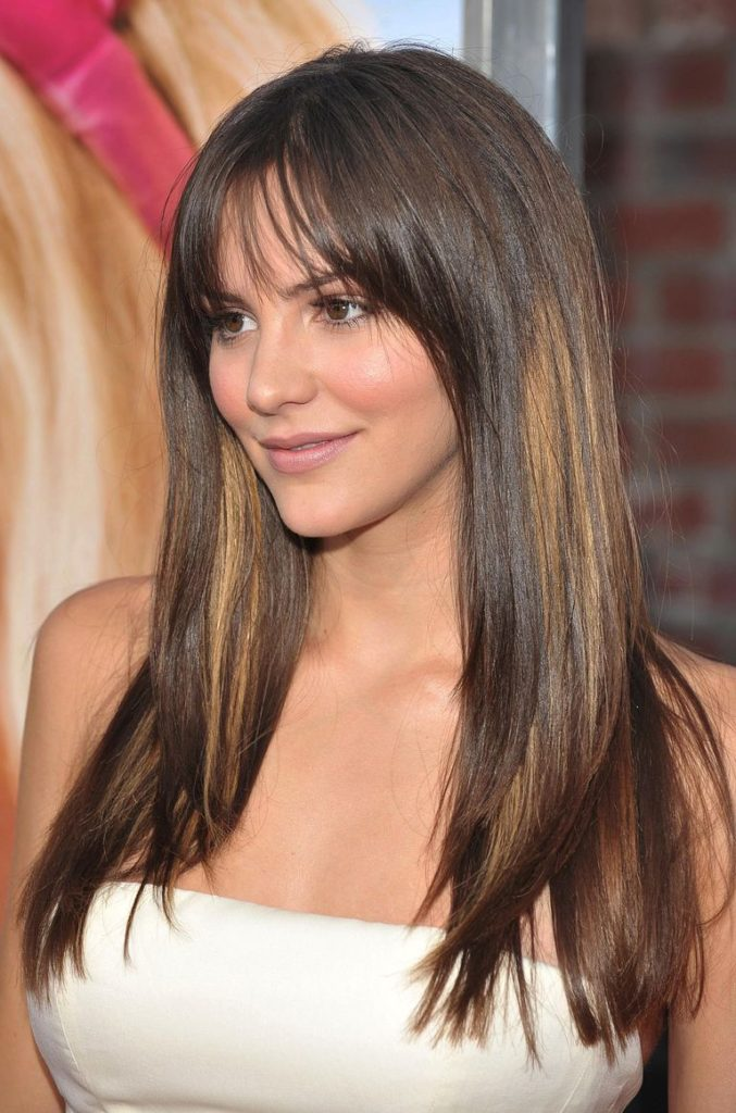 30 Long Hairstyles for Round Faces - Keep Calm And Style Your Hair - Haircuts & Hairstyles 2019