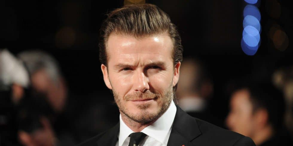 30 David Beckham Hairstyles Inspiration From The One In The