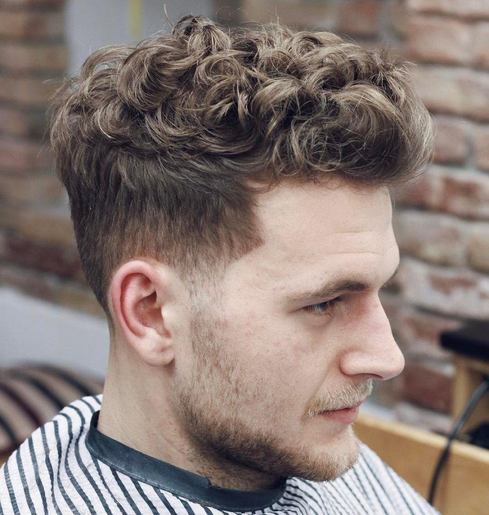 Mens Short Curly Hairstyles 2018 Ausreise Info
