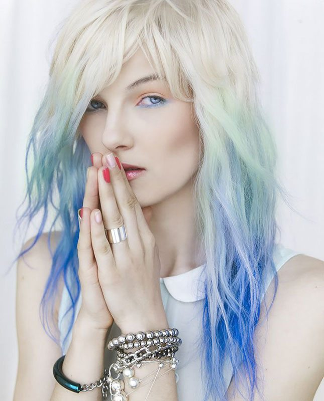 Pastel Color Highlights