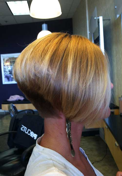 Short Inverted Bob