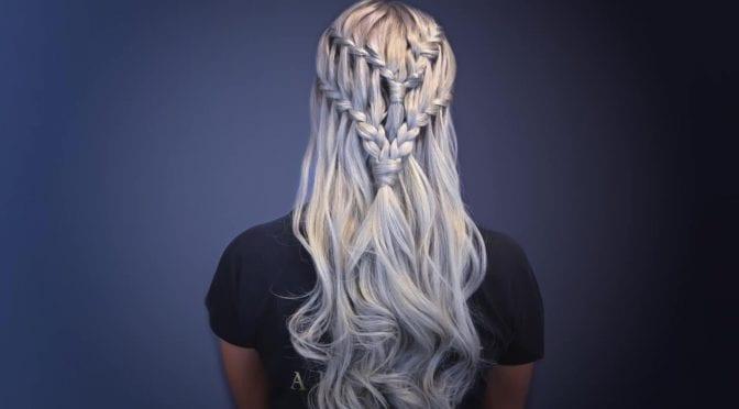 16 Waterfall Braid Hairstyles For Your Beautiful Locks