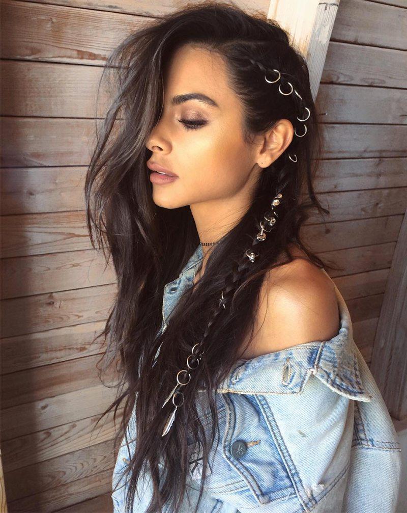 Glitter Roots Hair