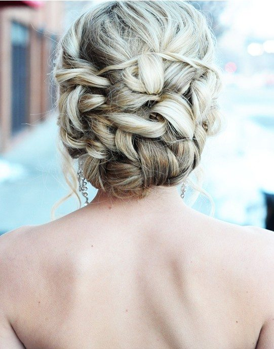 Updo Hairstyle for Homecoming