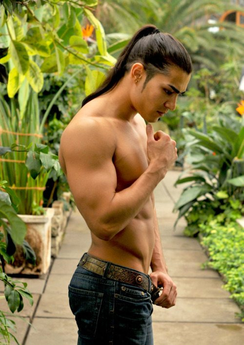 Ponytail Hairstyles for Men