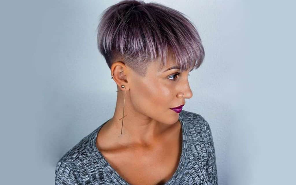hair styles for big girls 15 hairstyles for thick hair to look amazing 1833 | 8. Funky Short Hairstyle with Undercut