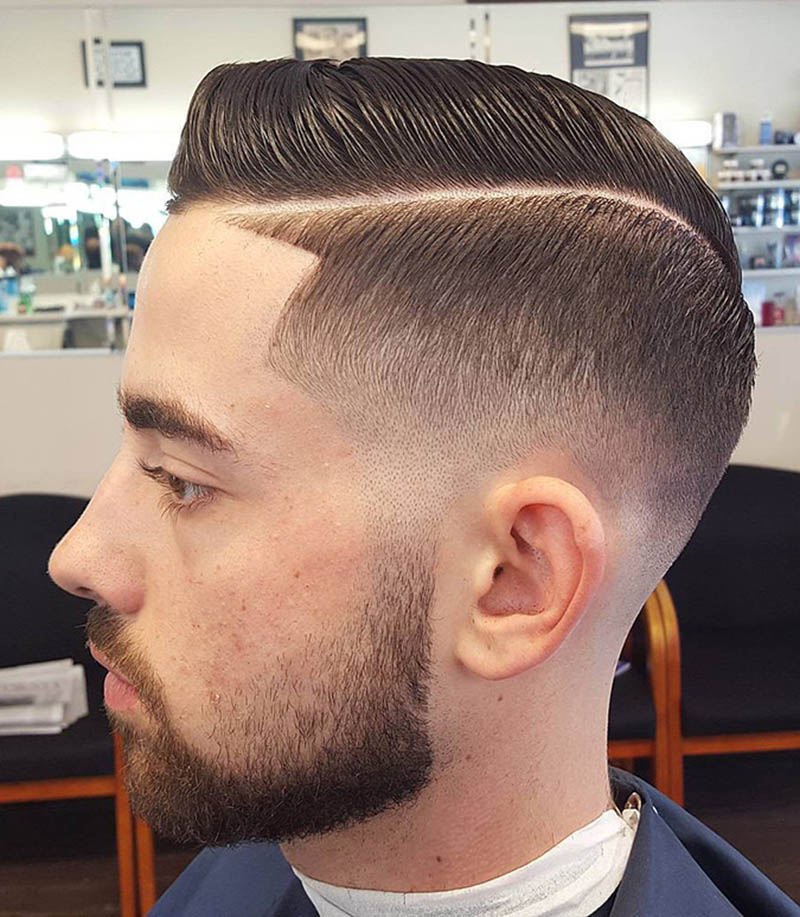 18 Men's Fade Hairstyles - Look Wonderful And Well Groomed
