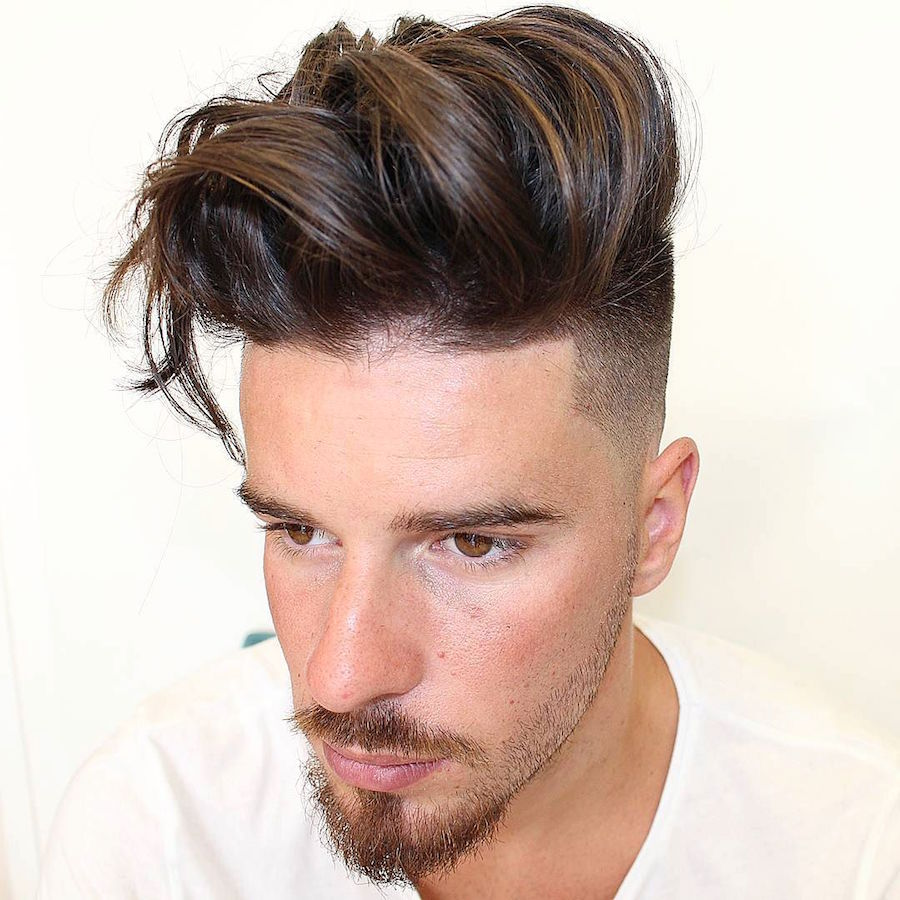 Men's Hairstyle for Thick Hair