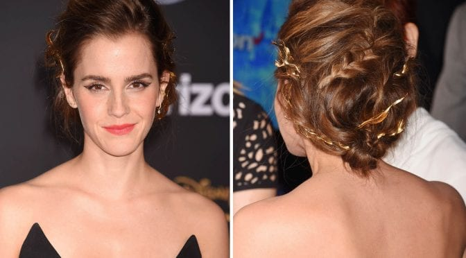 Low Twisted Braided Updo