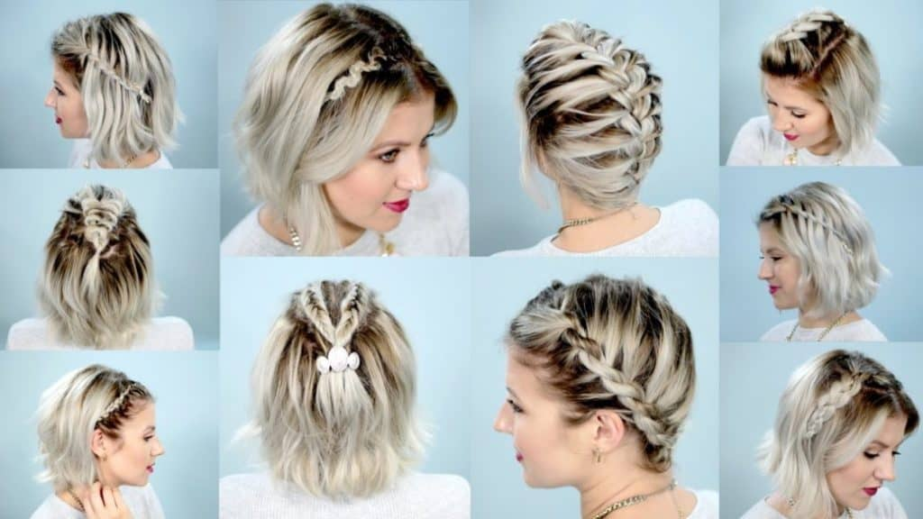 17 Braided Hairstyles For Short Hair Look More Beautiful With This