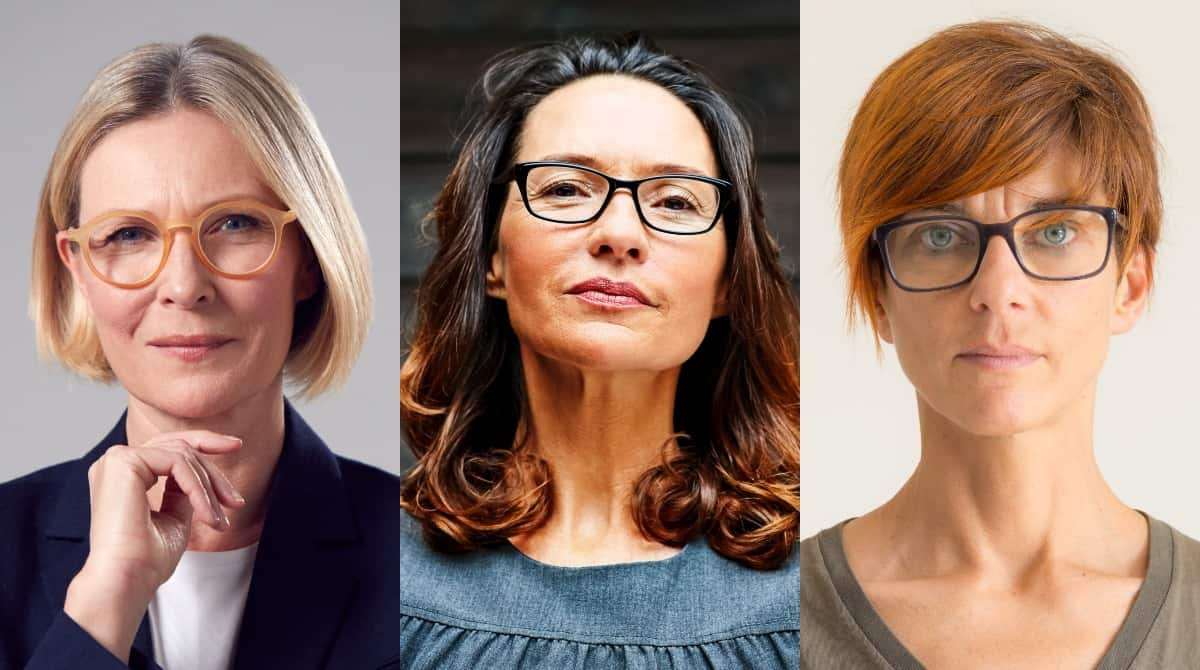 Hair Color and Glasses Tips for Women Over 50