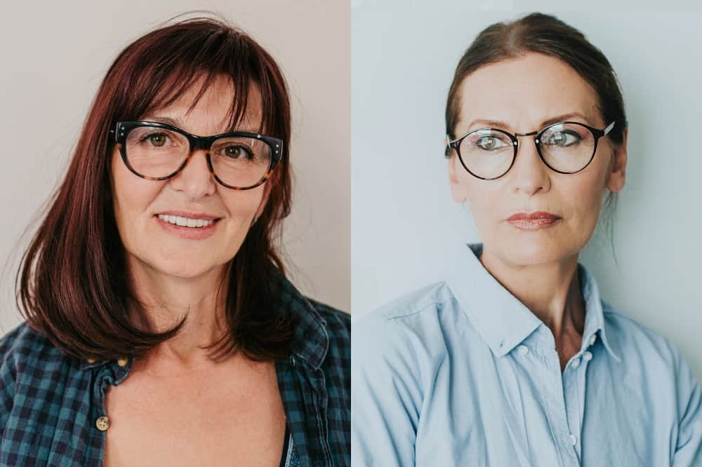 Hairstyles and Glasses Tips for Women Over 50