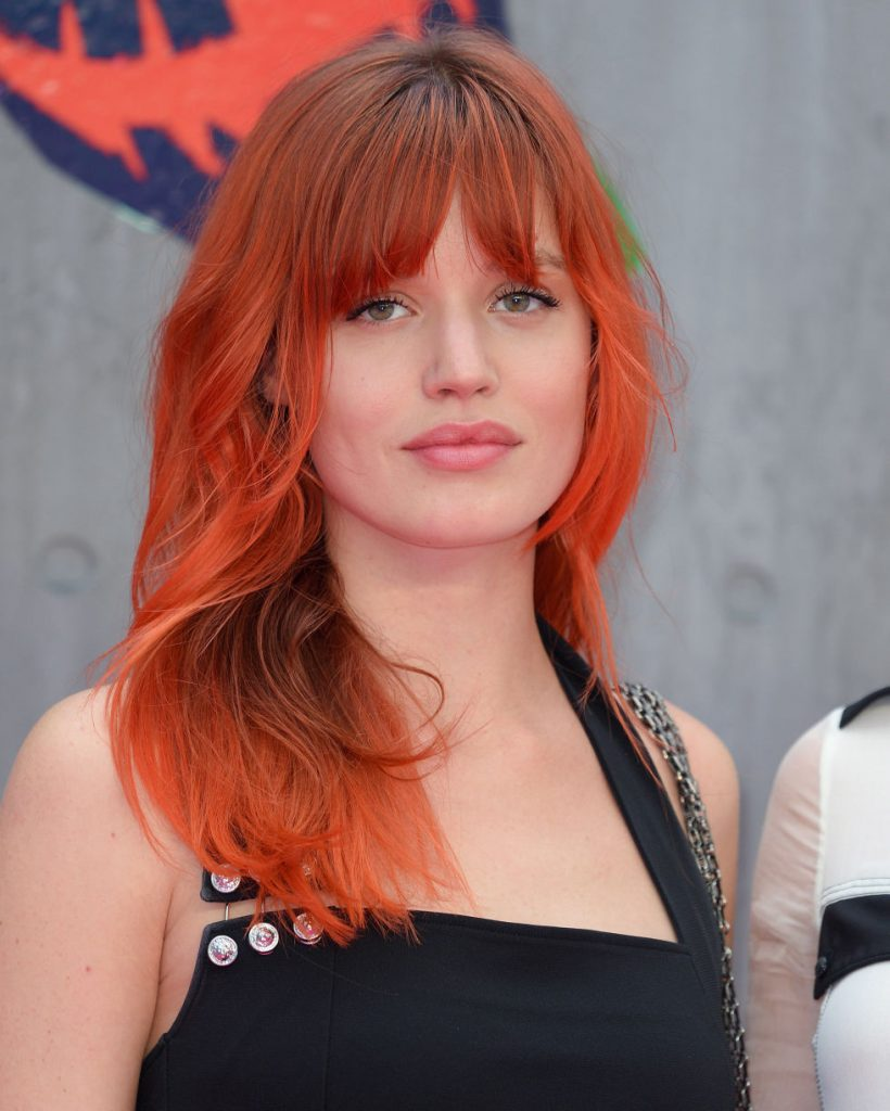 Red Hair with Graded Fringe