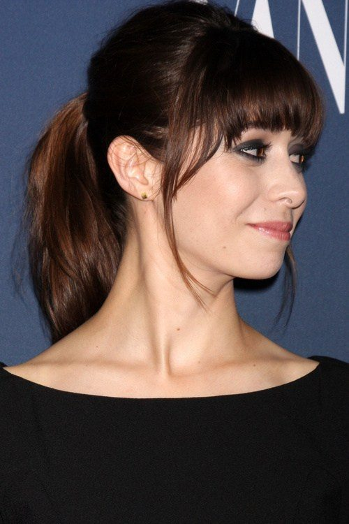 Ponytail with Fringe