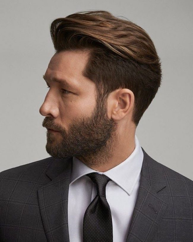 15 Classic Hairstyles For Men , Look Classy In And Out