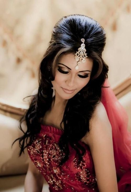 Bouffant Hairstyle for Wedding