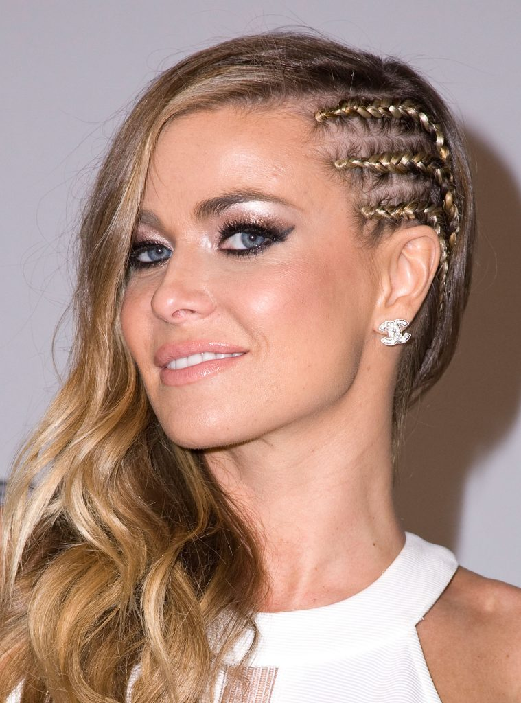 Side Cornrows Braids for Long Hair