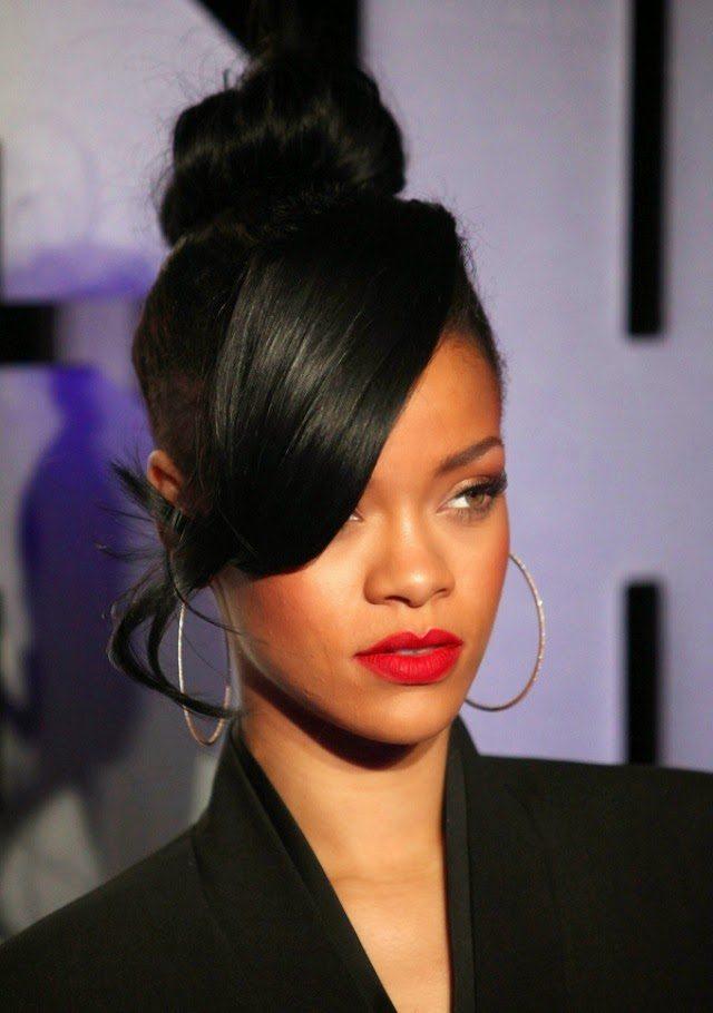 Bun Hairstyle for Black Women