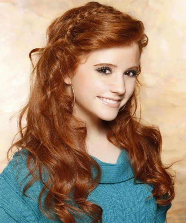 School Girl Hairstyle