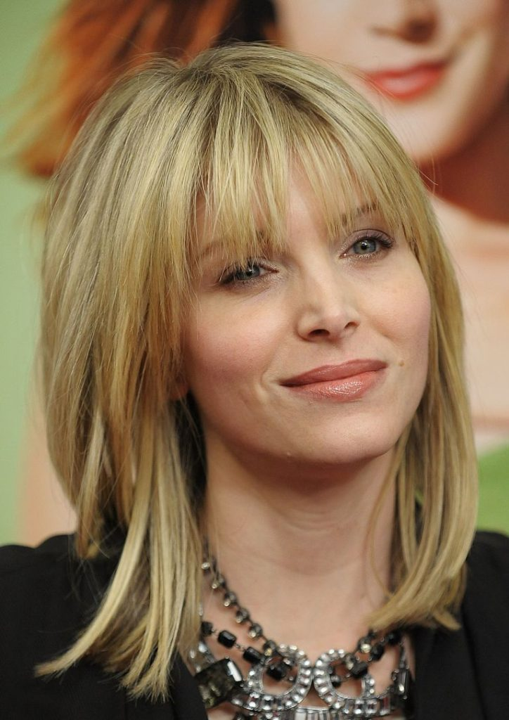 Blonde Hairstyle with Bangs