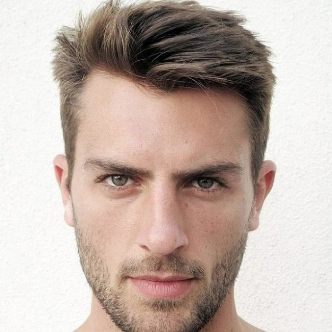 Widows Peak Hairstyles for Men