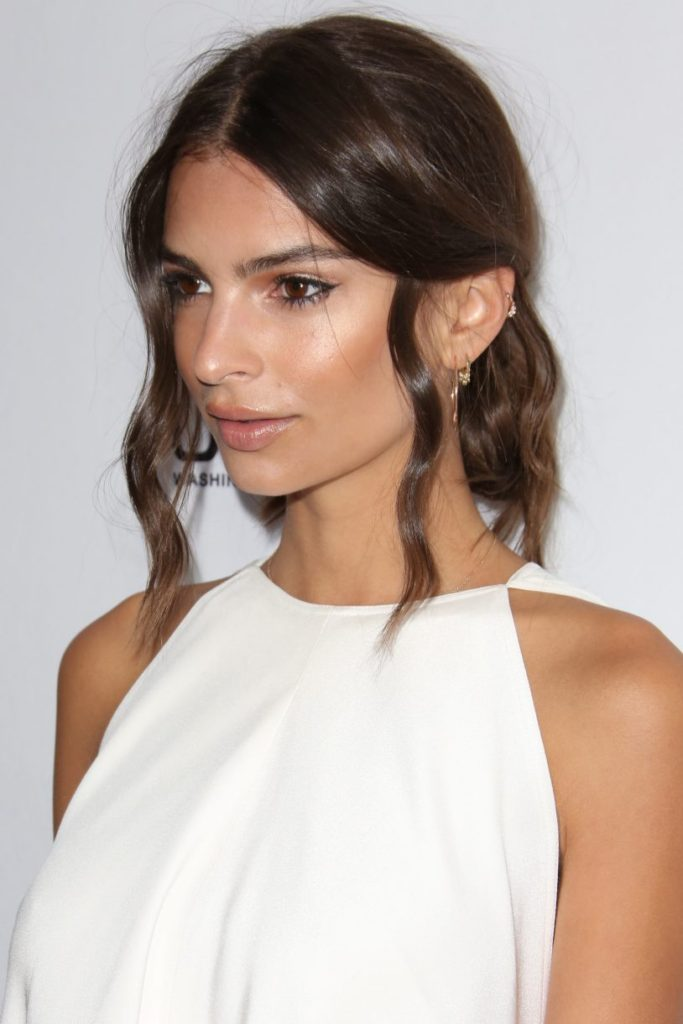 Cute Updo for Thick Wavy Hair