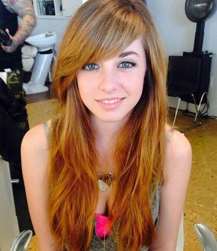 Side Bangs for Long Hair
