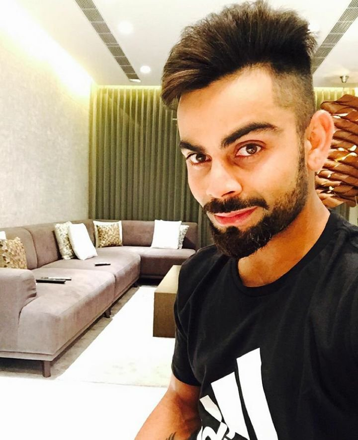 Virat Kohli Hairstyles , Stylish and Worth Trying for Every Man