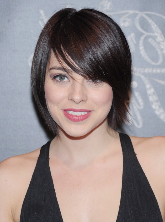 Side Swept Short Hairstyles