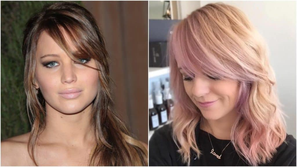 Hairstyles With Side Bangs For Women