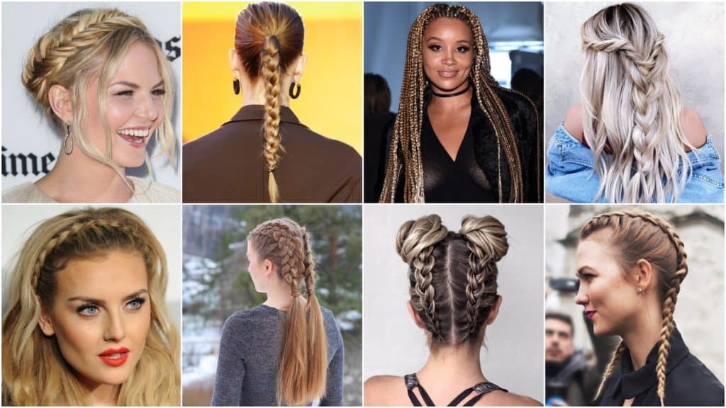 40 Different Styles to Make Braid Hairstyles for Women - Haircuts ...