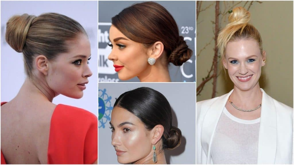30 Bun Hairstyles for Women to Look Gorgeous - Haircuts ...