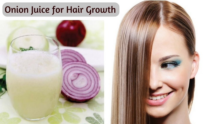 Onion Juice for Hair