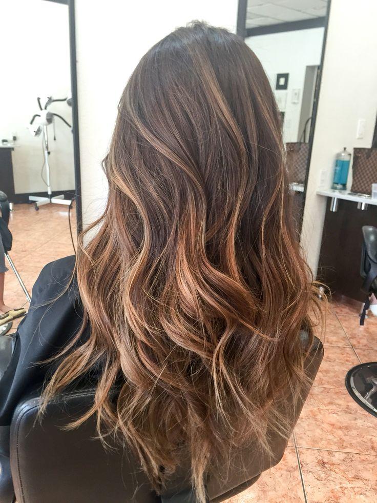 Trendy Balayage Hairstyle