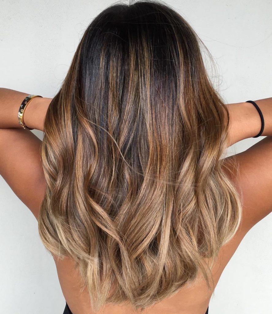 Caramel & Ash Hairstyle