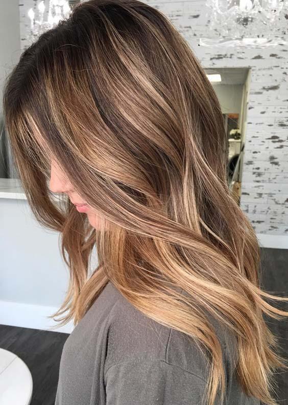 Incredible Balayage Hairstyle