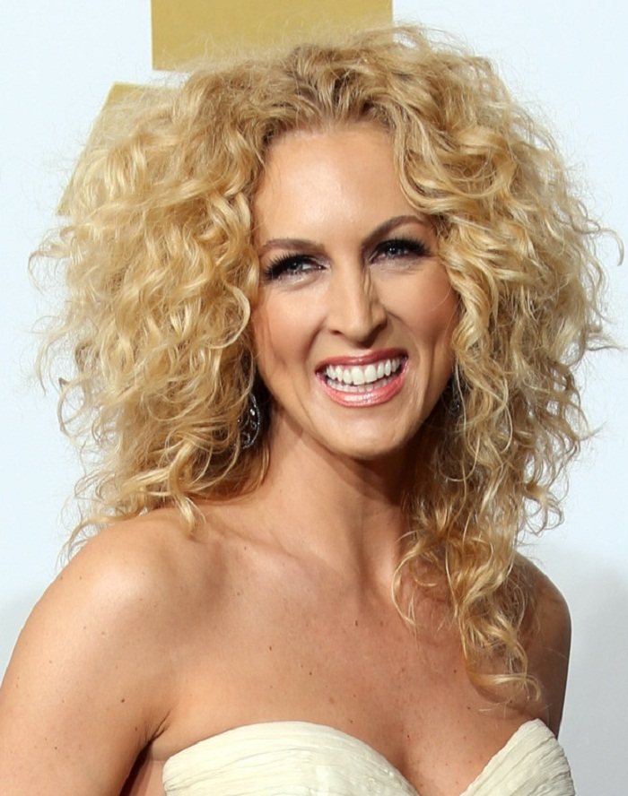 Curly Hairstyle for over 40