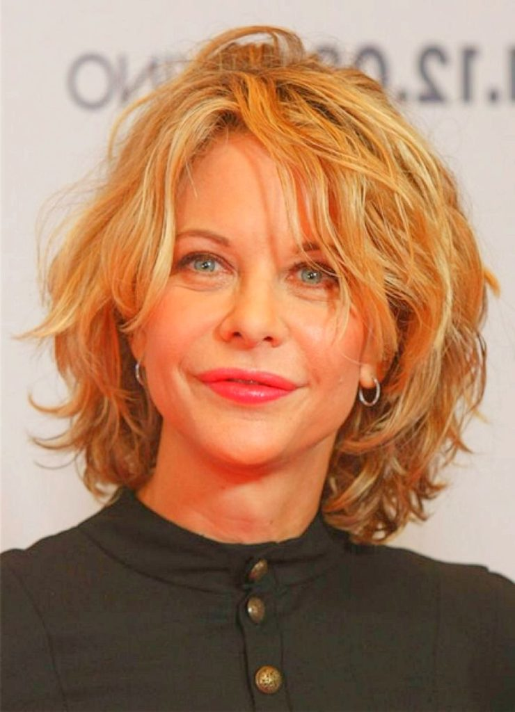 Curly Hairstyles for Over 50