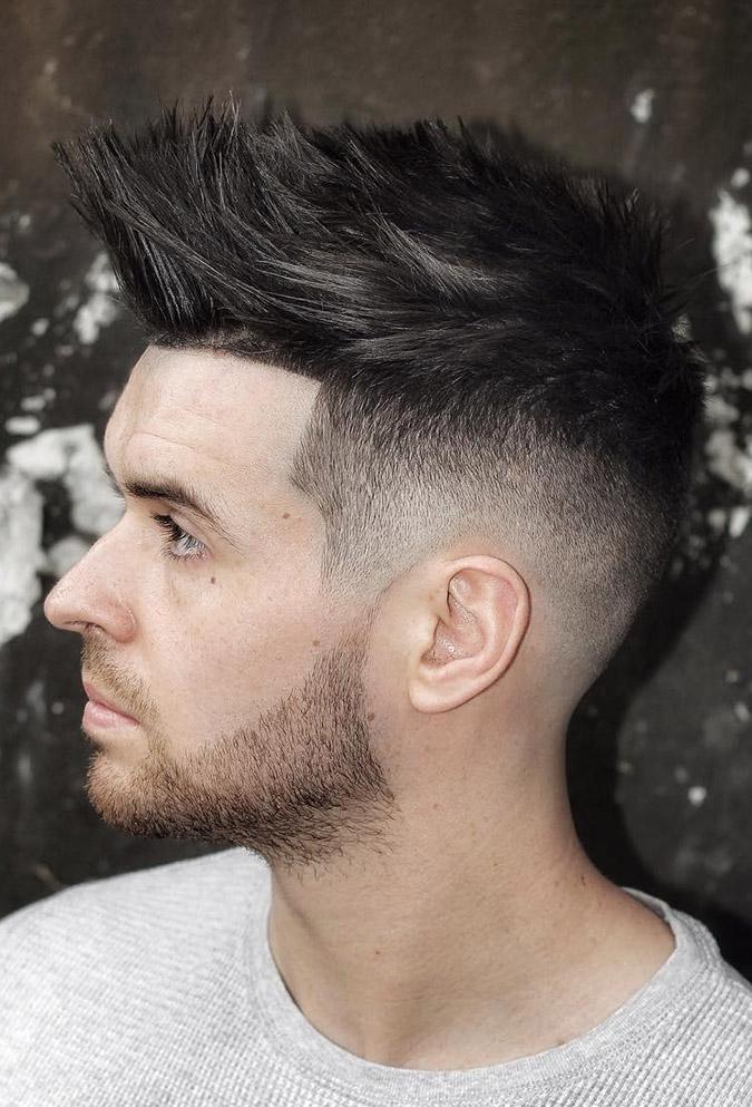 27. Strip Up Spiky Hair