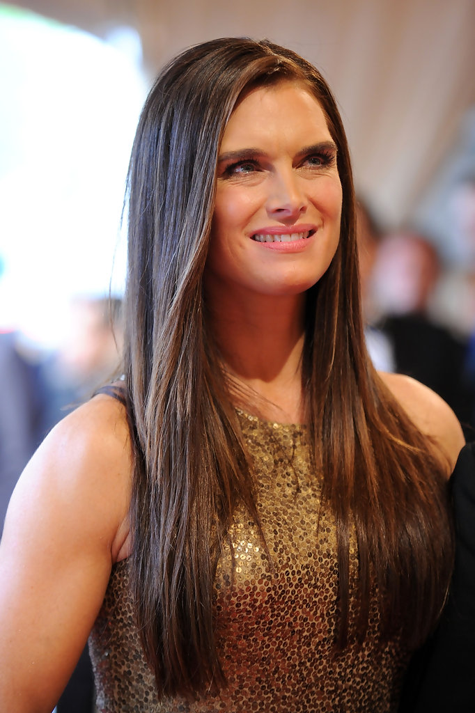 Sleek Straight Long Hairstyle