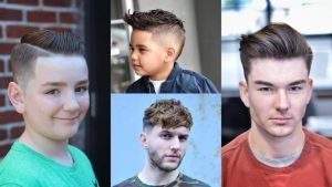 33 Most Coolest and Trendy Boy's Haircuts 2018