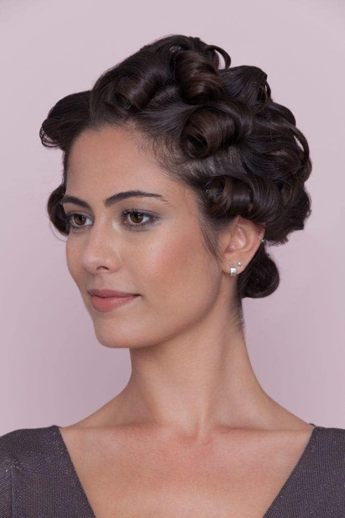 23. Tight Pin Curls
