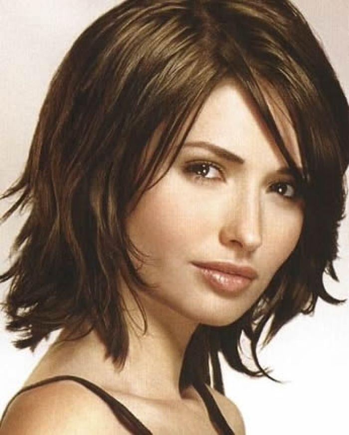 5. Layered Sassy Hairstyle