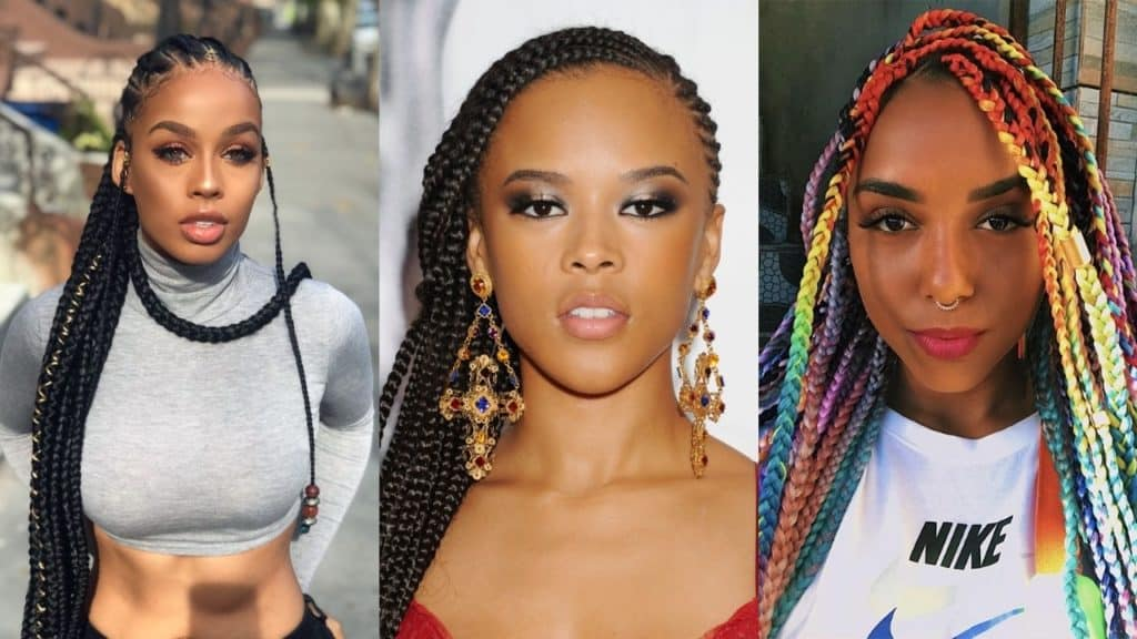 African Hair Braiding Styles 2019: 40 Stunning And Stylish Goddess Braids Hairstyles